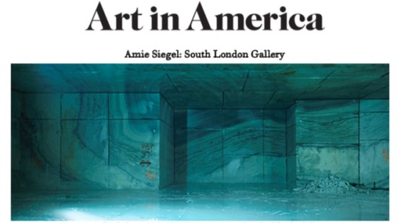 Amie Siegel: South London Gallery
