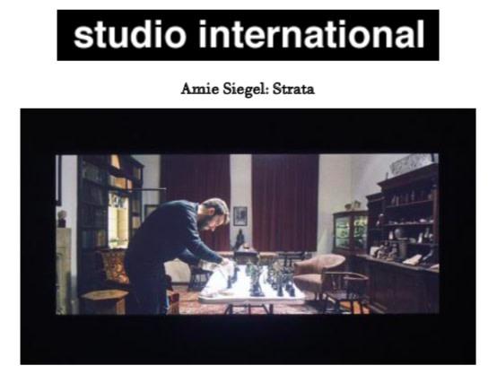 Amie Siegel: Strata