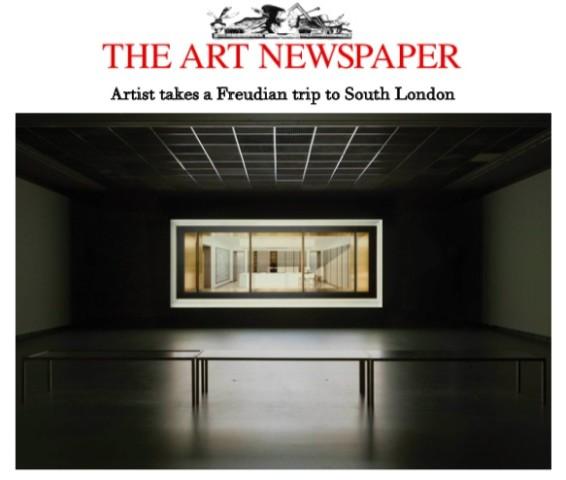 Artist takes a Freudian trip to South London