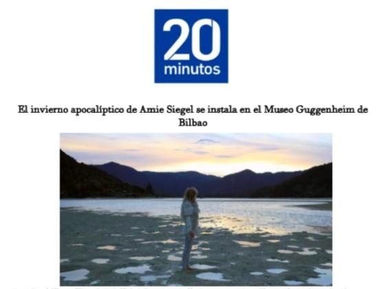 El invierno apocalíptico de Amie Siegel se instala en el Museo Guggenheim de Bilbao