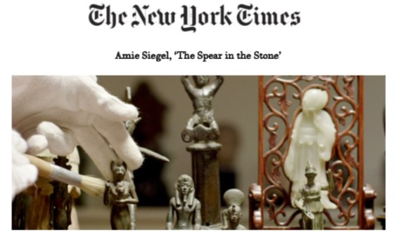 Amie Siegel, 'The Spear in the Stone'