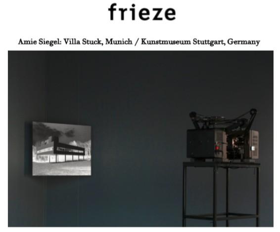 Amie Siegel: Villa Stuck, Munich / Kunstmuseum Stuttgart, Germany