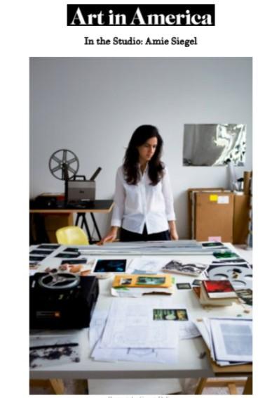In the Studio: Amie Siegel