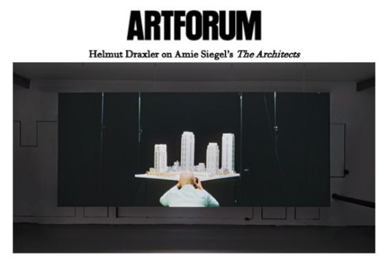 Helmut Draxler on Amie Siegel's 'The Architects'