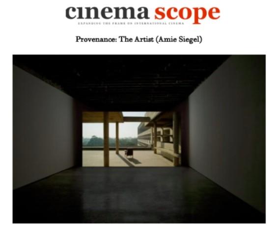 Provenance: The Artist (Amie Siegel)