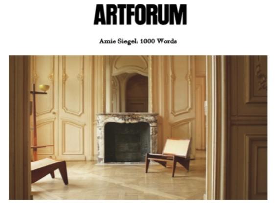 Amie Siegel: 1000 Words
