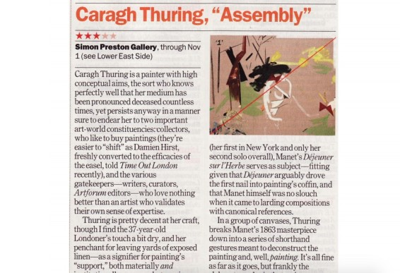 Caragh Thuring: Asembly