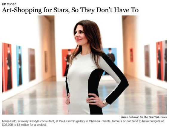 Art-Shopping for Stars, So They Don't Have to
