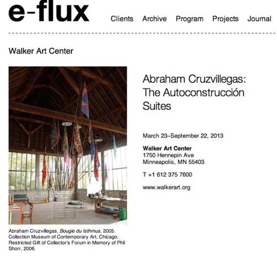 Abraham Cruzvillegas:  The Autoconstrucción Suites