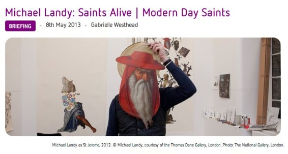 Michael Landy: Saints Alive | Modern Day Saints