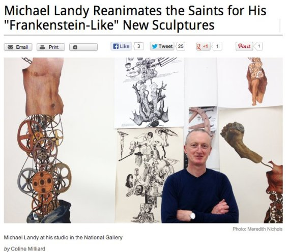 Michael Landy Reanimates the Saints for His