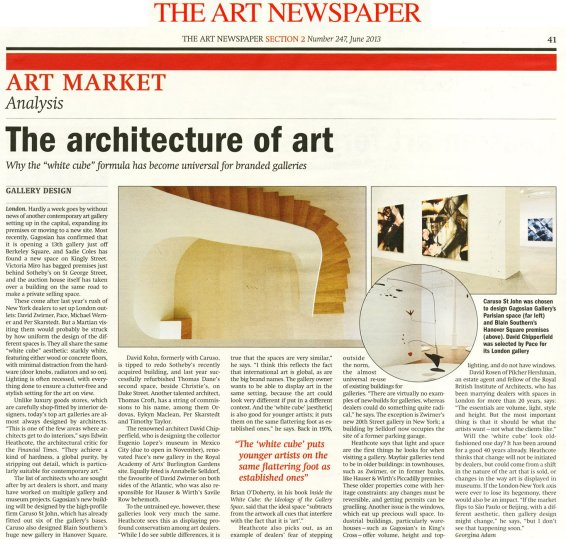 The Architecture of Art
