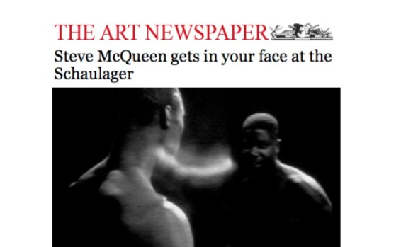 Steve McQueen gets in your face at the Schaulager