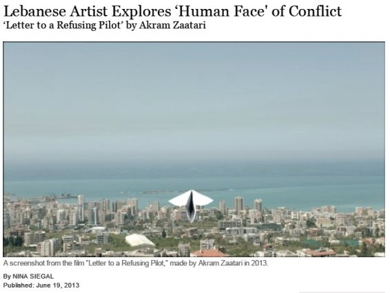 Lebanese Artist Explores 'Human Face' of Conflict