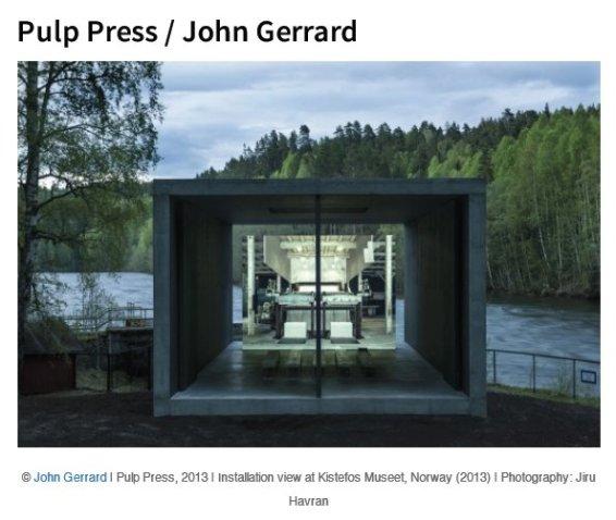 Pulp Press / John Gerrard