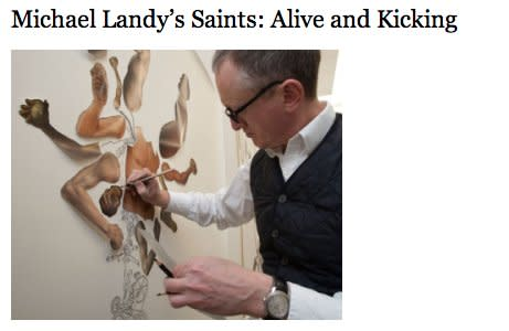 Michael Landy's Saints: Alive and Kicking
