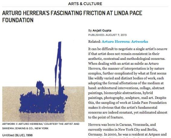Arturo Herrera's fascinating friction at Linda Pace Foundation
