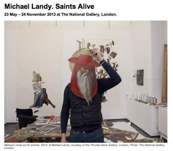 Michael Landy Saints Alive