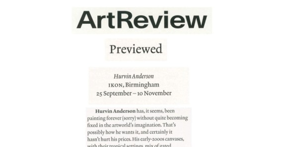 Hurvin Anderson: Previewed