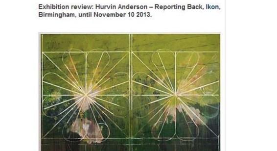 Hurvin Anderson's stunning paintings take over Birmingham's IKON gallery