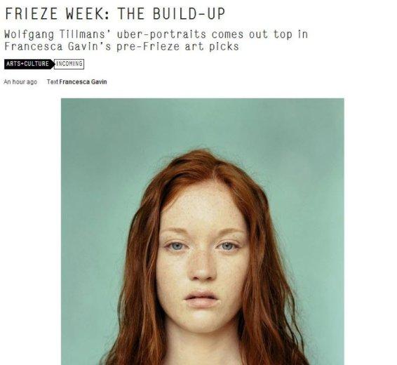 Frieze Week: the Build-Up