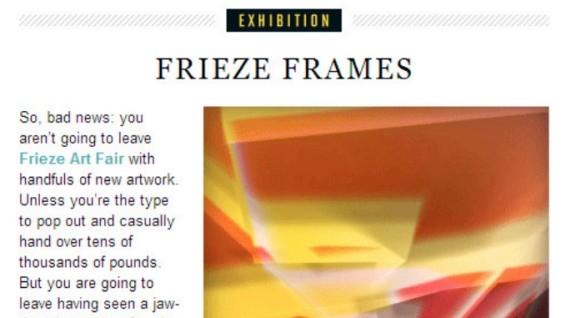 Frieze Frame
