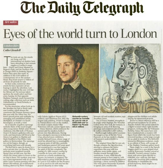 Eyes of the world turn to London