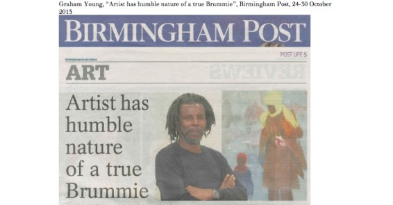Artist has humble nature of a true Brummie