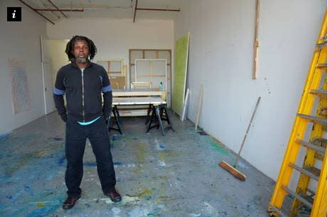 In the studio: Hurvin Anderson, artist