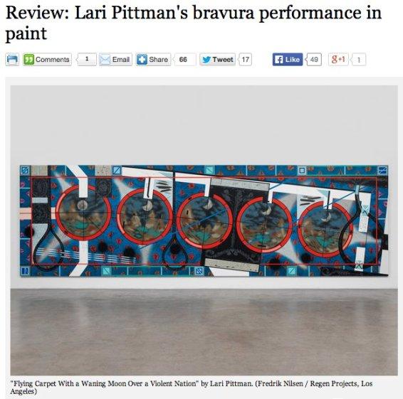 Review: Lari Pittman's bravura performance in paint