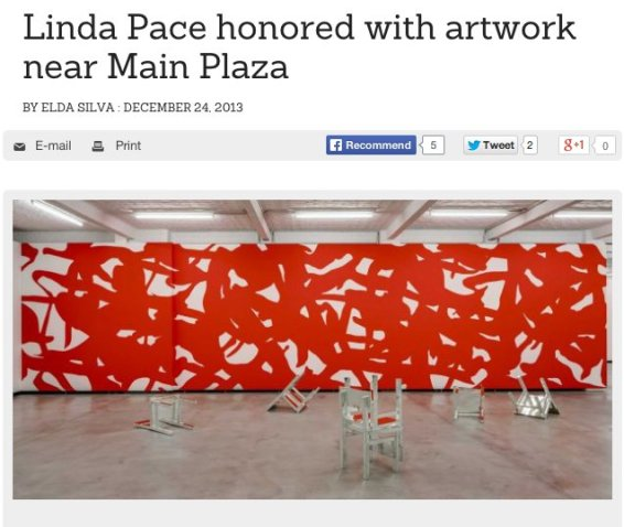 Linda Pace honored with artwork near Main Plaza