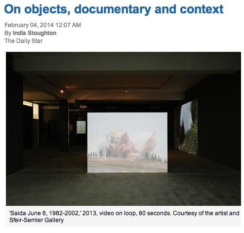 On objects, documentary and context