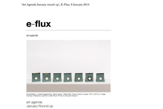 Art Agenda January 2014 round-up