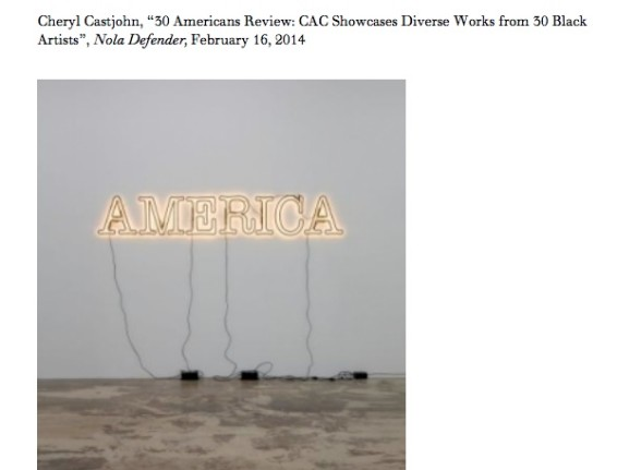 30 Americans Review: CAC Showcases Diverse Works from 30 Black Artists