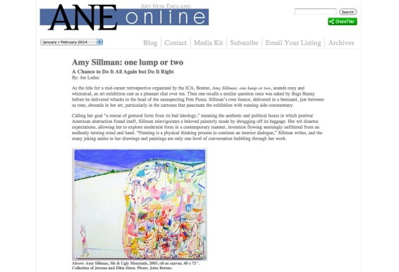 Amy Sillman: one lump or two, A Chance to Do It All Again but Do It Right