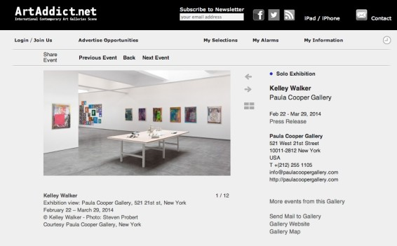Kelley Walker Paula Cooper Gallery