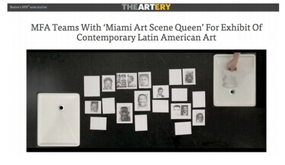 MFA Teams with 'Miami Art Scene Queen' for Exhibit of Contemporary Latin American Art