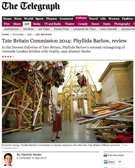 Tate Britain Commission 2014: Phyllida Barlow, review