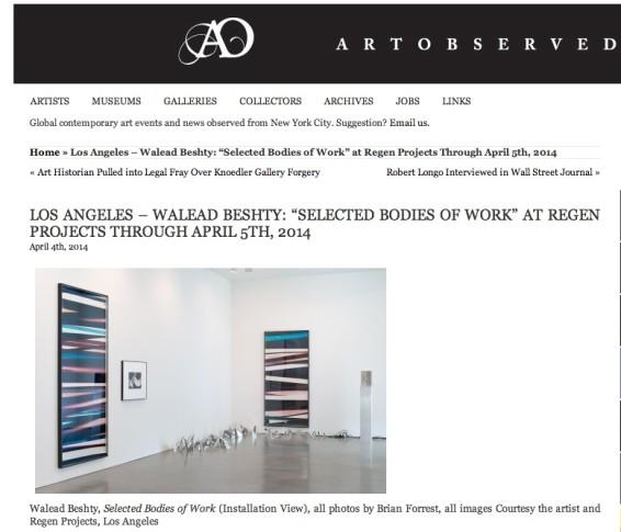 Los Angeles - Walead Beshty:
