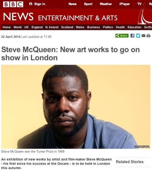 Steve McQueen: New art works to go on show in London