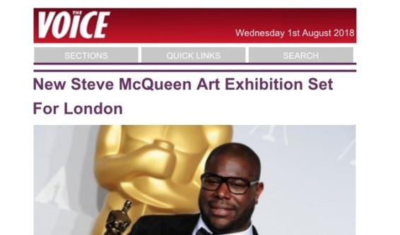 New Steve McQueen Art Exhibition Set For London
