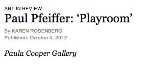 Paul Pfeiffer: 'Playroom'