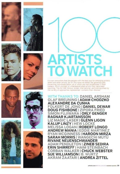 100 Artists to Watch