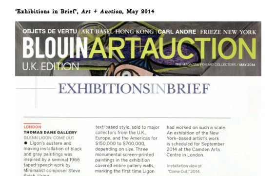 Exhibitions in Brief