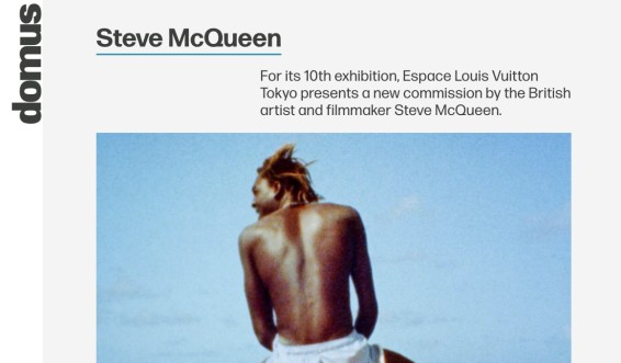 For its 10th exhibition, Espace Louis Vuitton Tokyo presents a new commission by the British artist and filmmaker Steve