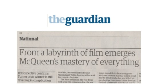From a labyrinth of film emerges McQueen's mastery of everything