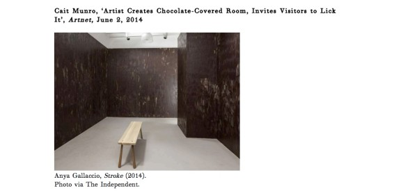 Artist Creates Chocolate-Covered Room, Invites Visitors to Lick It