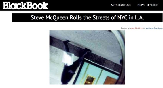 Steve McQueen Rolls the Streets of NYC in L.A.