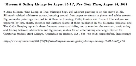 Museum & Gallery Listings for August 15-21