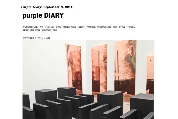 Walead Beshty: Purple Diary